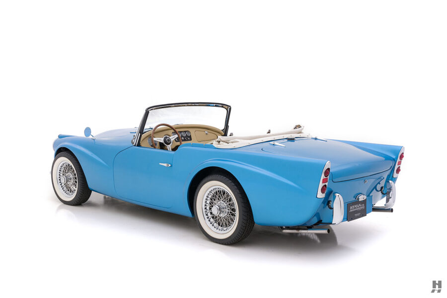 Left Side Back View of Rare 1957 Daimler SP250 For Sale at Hyman in St. Louis