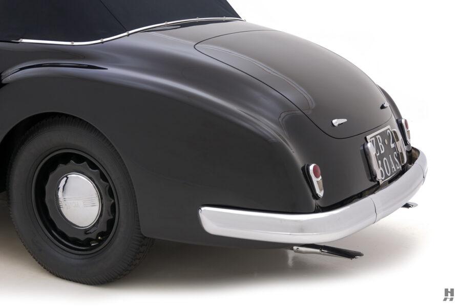 back of vintage 1938 lancia cabriolet for sale at Hyman dealers