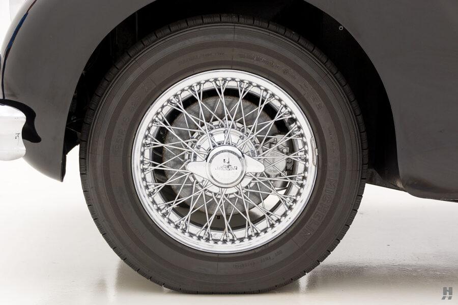 back tire on antique jaguar coupe for sale at hyman classic cars