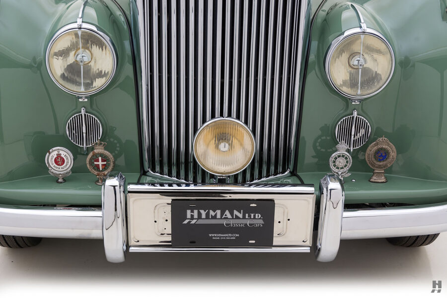 frontside of classic 1951 bentley ward coupe for sale at hyman cars