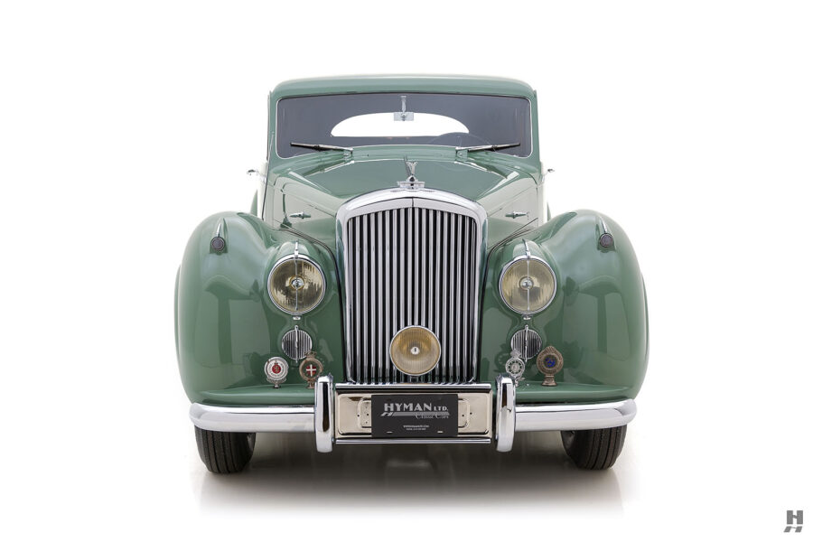 front of classic 1951 bentley ward coupe for sale at hyman cars