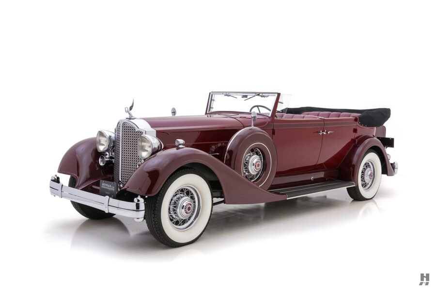 Angled Front Side View of Classic 1934 Convertible Sedan - Find More Cars For Sale at Hyman Consignment Dealers in St. Louis