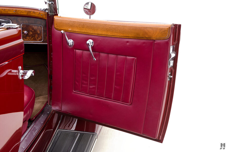 Passenger's Side Door on Classic 1934 Packard Sedan - Find Antique Cars For Sale at Hyman Consignment Dealers in St. Louis
