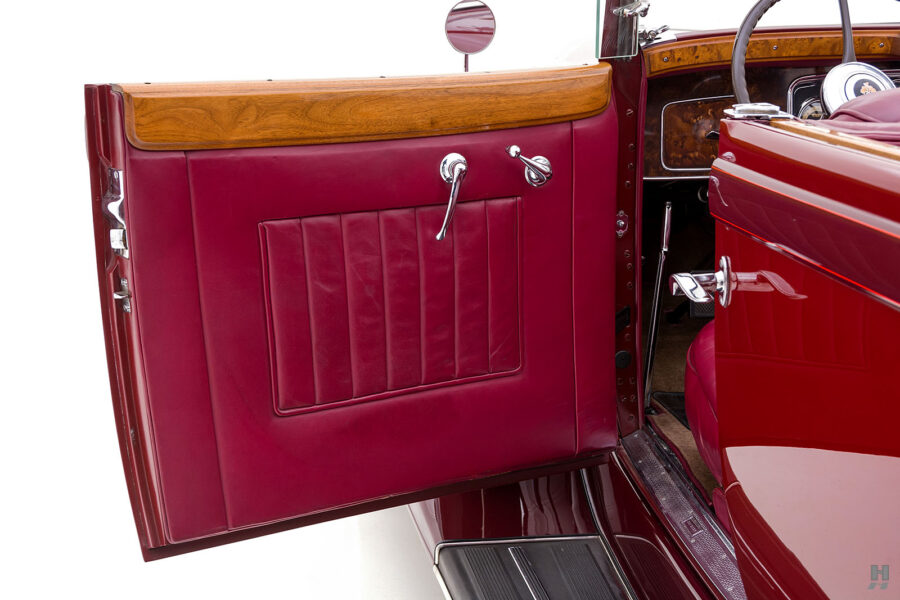 Driver's Side Door on Vintage 1934 Packard Sedan - Find Antique Cars For Sale at Hyman Consignment Dealers