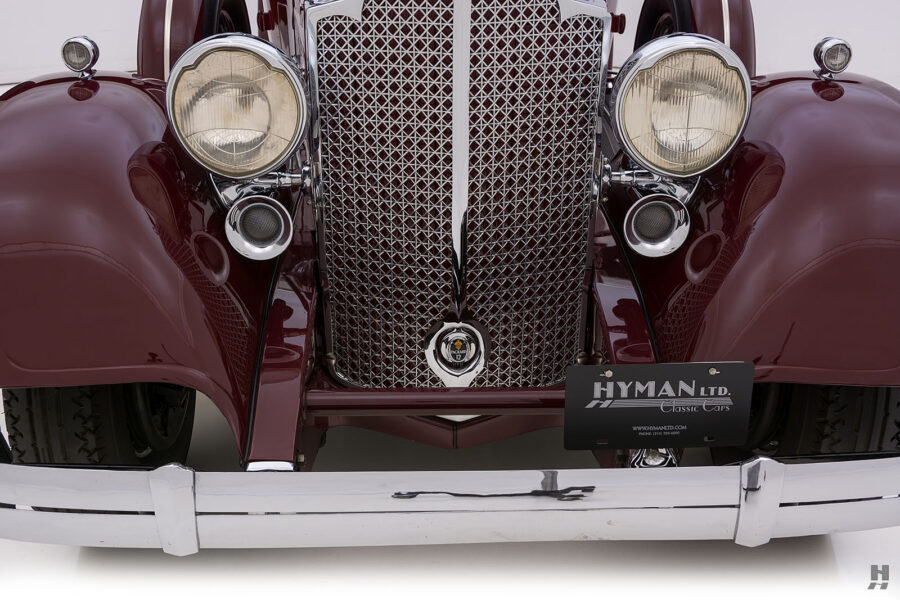 Close Up of Front of Vintage 1934 Packard Sedan - Find More Antique Cars For Sale at Hyman Consignment Dealers Near You