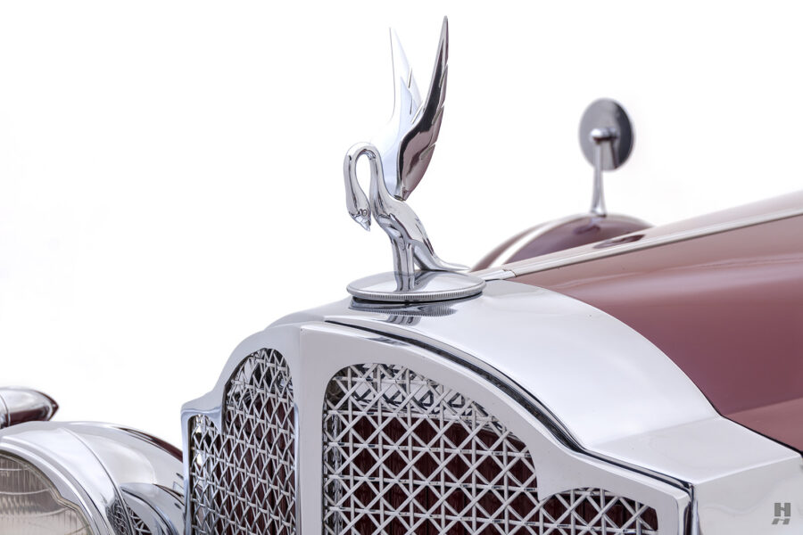 Bird Symbol on Vintage 1934 Packard Sedan - Find More Specialty Classic Cars at Hyman in St. Louis