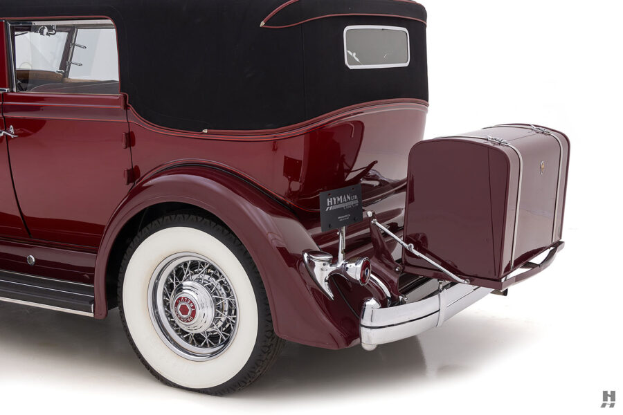 Angled Backside View of Classic 1934 Packard Sedan - Find More Antique Cars For Sale at Hyman Dealers in St. Louis
