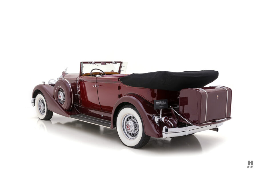 Backside View of Classic 1934 Packard Sedan - Find More Cars For Sale Online at Hyman