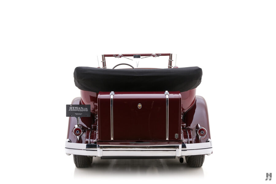 Back End of Vintage 1934 Packard Sedan - Find More Antique Car Brands For Sale at Hyman