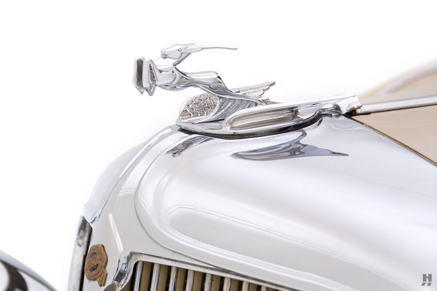 Up-Close Image of Classic Automobile for Sale at Hyman