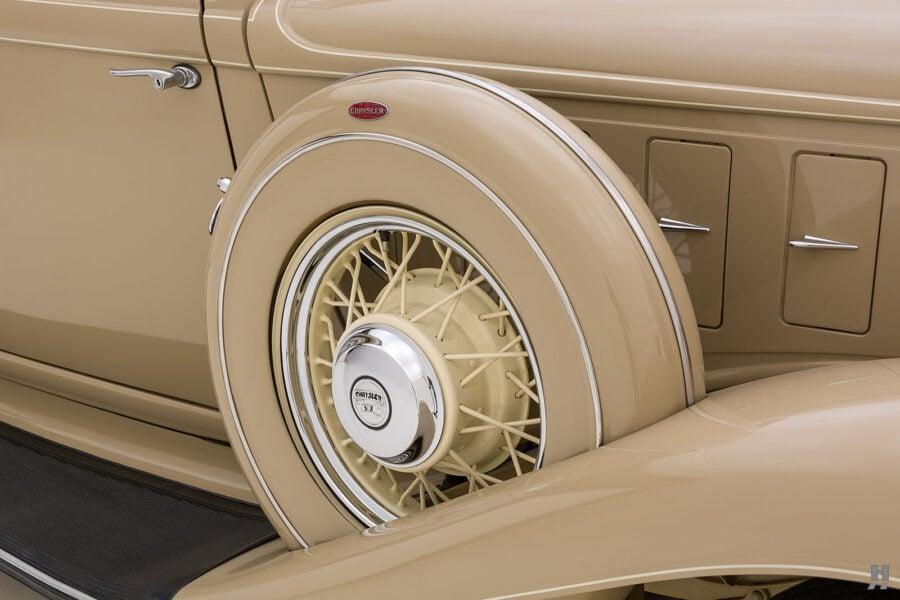 Vintage Antique Car Tire at Hyman - A Consignment Car Dealership