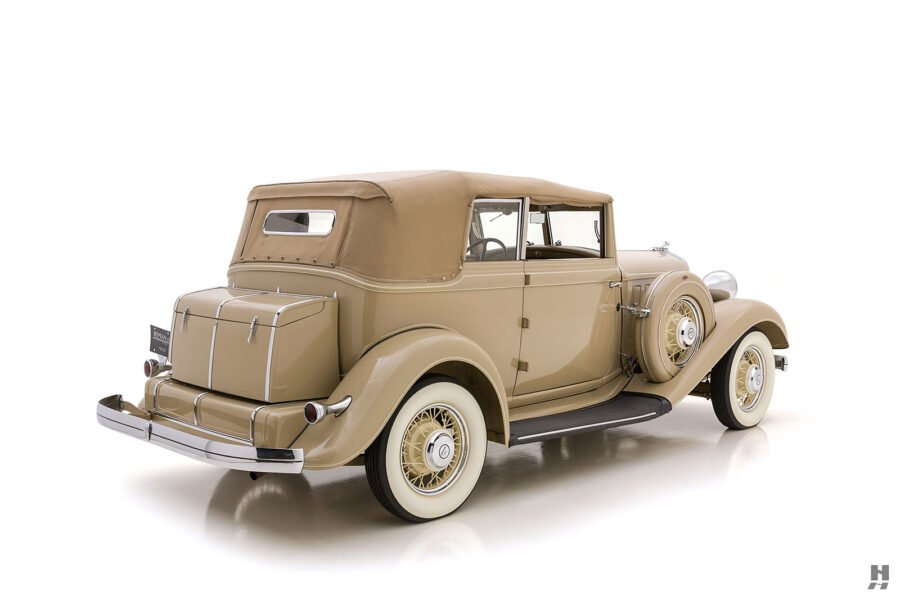 Full Image of Historic 1933 Chrysler at Hyman Car Dealership in St. Louis