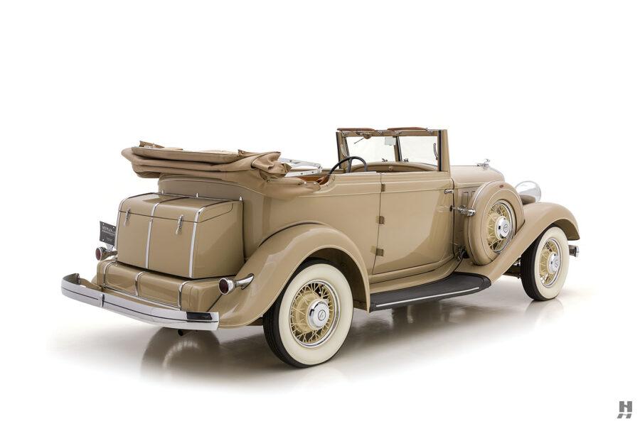 Side View of 1933 Chrysler at Hyman - A Vintage Car Dealer in Missouri