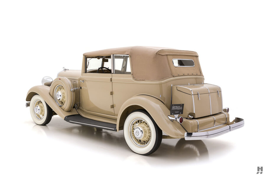 Side View of 1933 Classic Chrysler Car For Sale at Hyman in St. Louis, Missouri