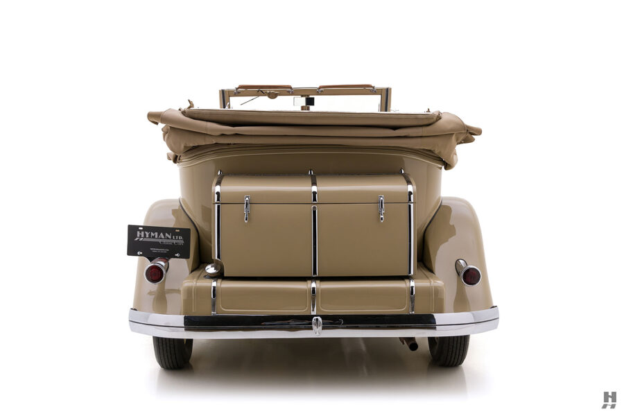 Back End of 1933 Vintage Chrysler Car at For Sale at Hyman in St. Louis, Missouri