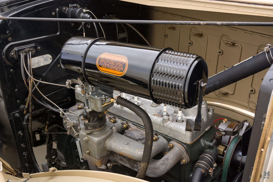A Look at A Vintage Chrysler Car's Engine - for Sale at Hyman Consignment Dealership in Missouri