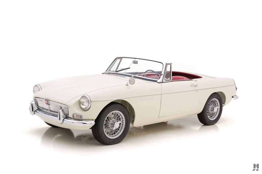 Angled Side View of Front of Classic 1963 Roadster - Find at Hyman Auto Dealers in St. Louis, Missouri