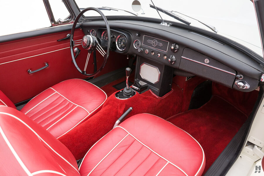 Inside Front View of Classic 1963 Roadster - Find More Cars For Sale At Hyman Auto Dealership in St. Louis, Missouri