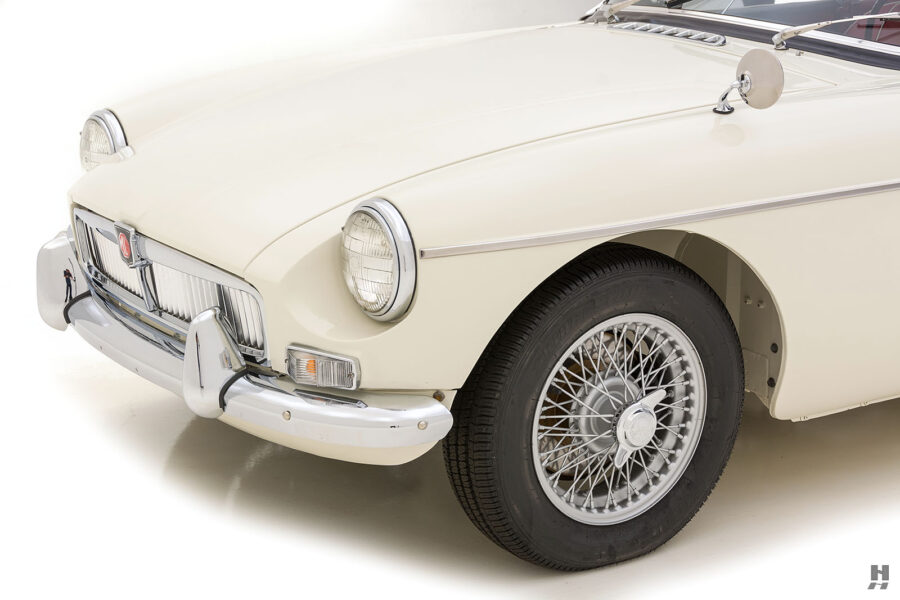 Front View of 1963 Classic Roadster - See More Cars for Sale at Hyman Consignment Dealership in St. Louis, Missouri