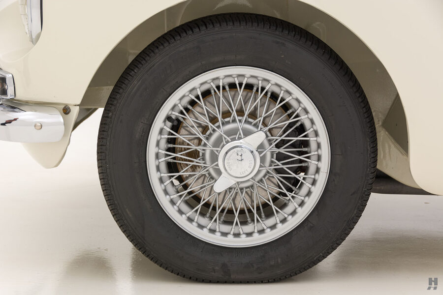 Tire of Rare 1963 Roadster Car - See More Cars For Sale at Hyman Car Dealership in St. Louis, Missouri