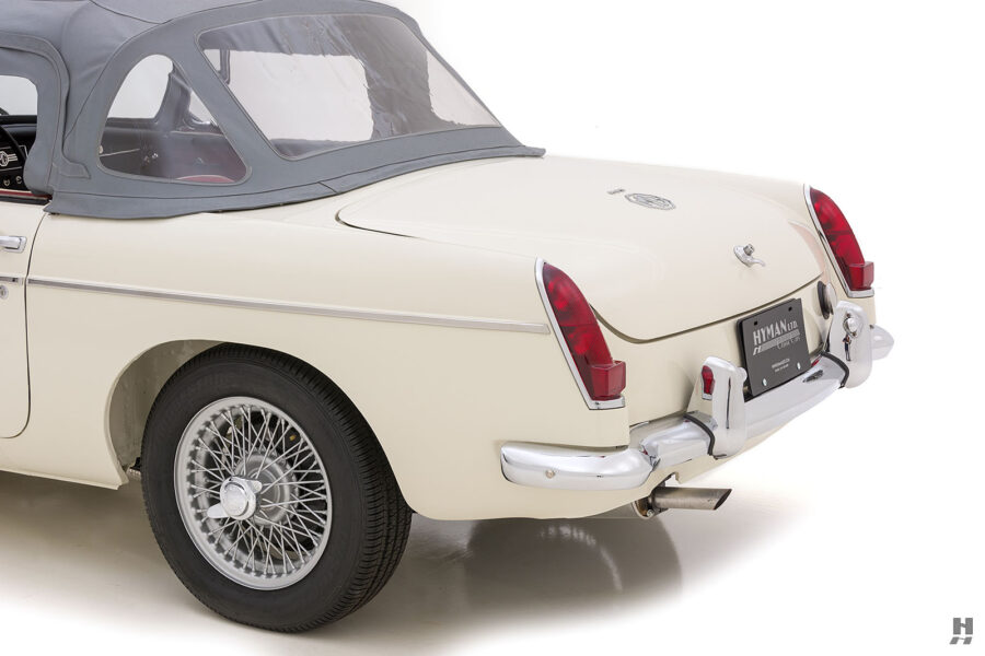 Back End Side View of Historic 1963 Roadster - See More Cars For Sale At Hyman Car Dealership in the Midwest