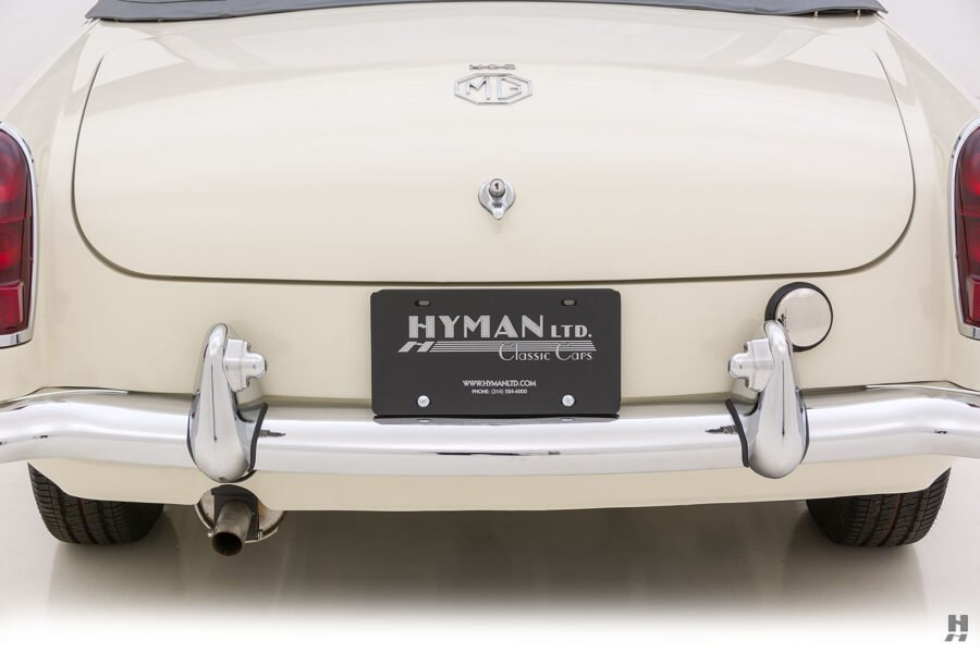 Back End of Classic 1963 Roadster Car - For Sale at Hyman Consignment Dealership Near St. Louis, Missouri