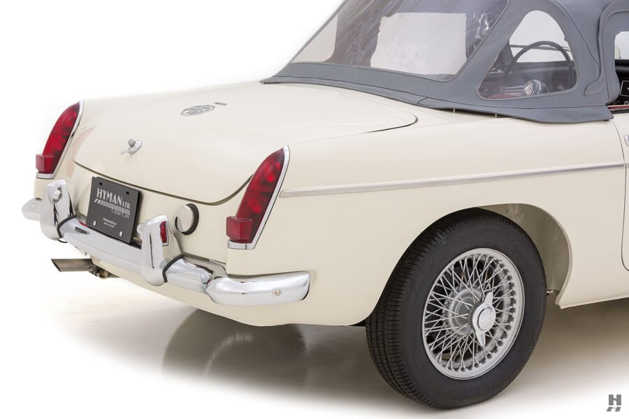 Back End of 1963 Classic Automobile - Find For Sale at Hyman Vehicle Consignment Located in St. Louis, Missouri
