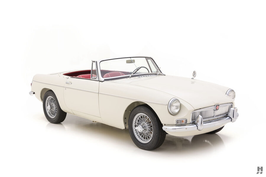 Side View of Rare Classic 1963 Roadster - For Sale at Hyman Consignment Car Dealer in St. Louis, Missouri