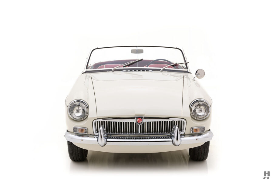 Front View of Restored 1963 Roadster Classic Car For Sale at Hyman in St. Louis, Missouri