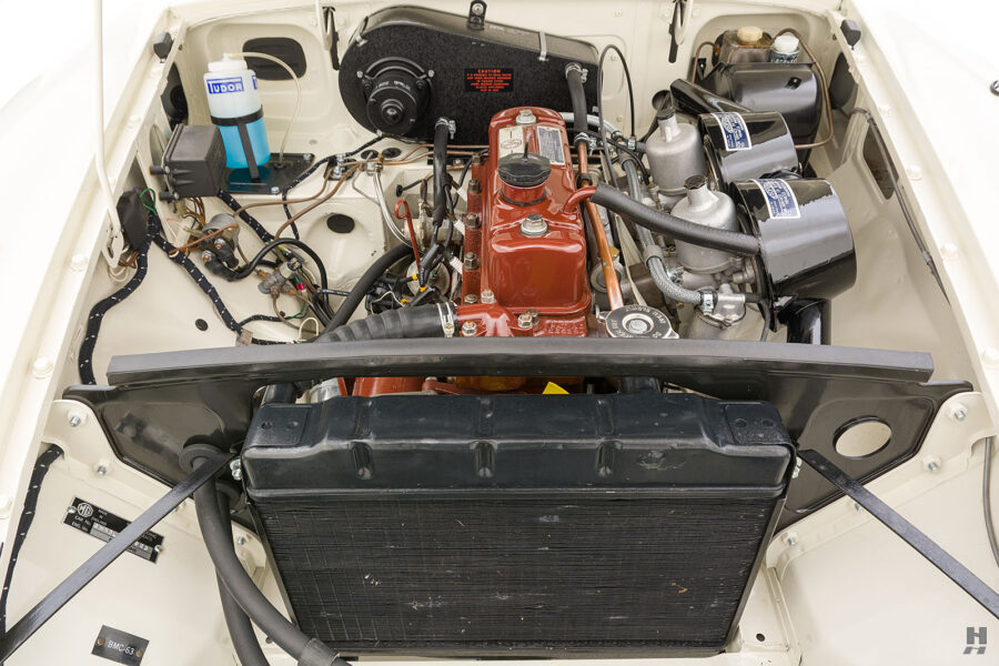 Different View of Engine in Old Classic Roadster - Find More Cars For Sale at Hyman Auto Dealership in St. Louis, Missouri