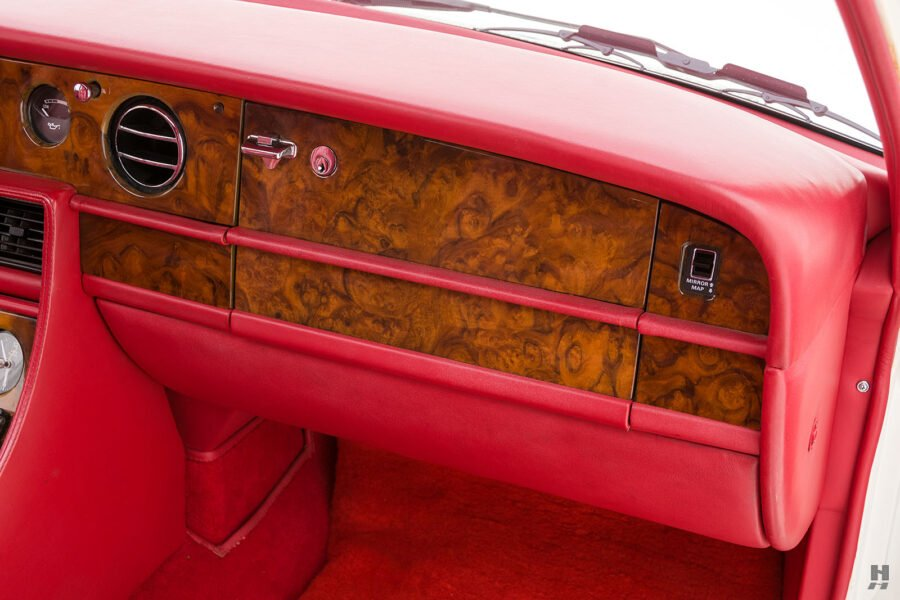 dashboard of old bentley turbo for sale at hyman classic cars