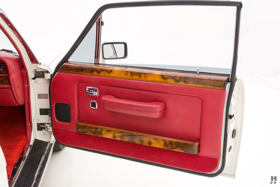 passenger's side door of old bentley turbo for sale at hyman classic cars
