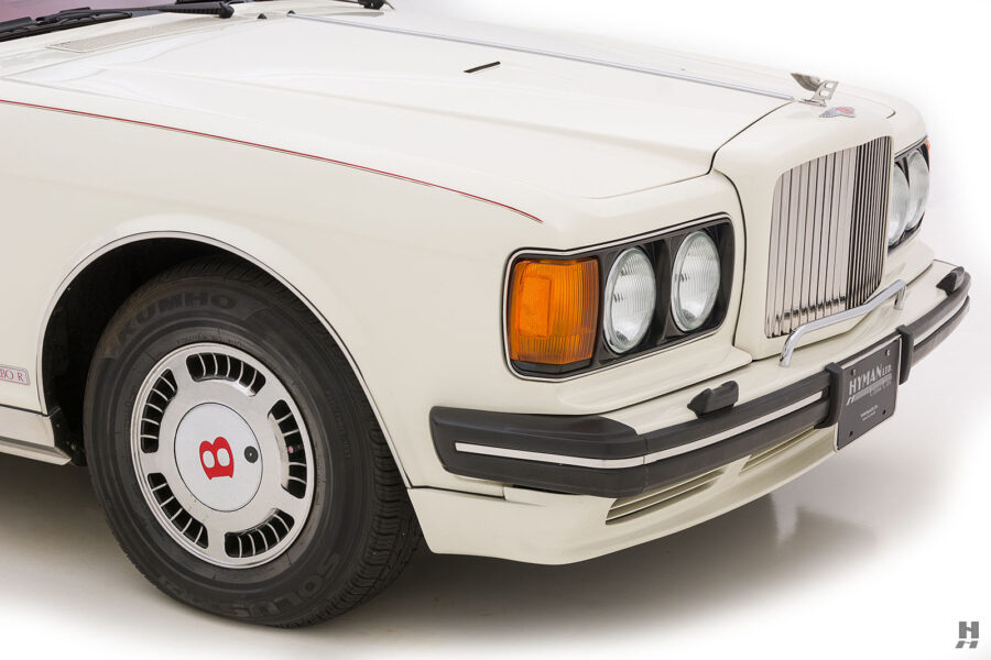 front side of old bentley turbo for sale at hyman classic cars