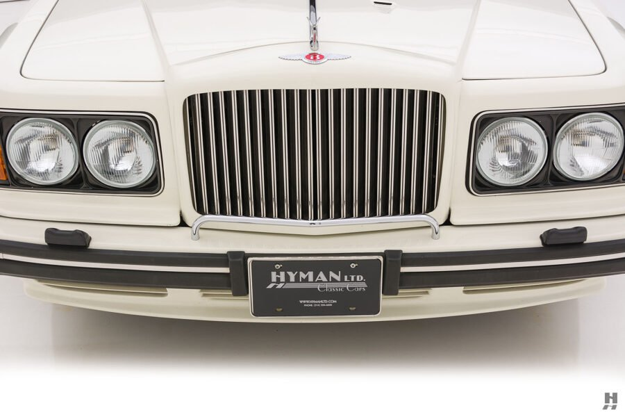 frontside of old bentley turbo for sale at hyman classic cars