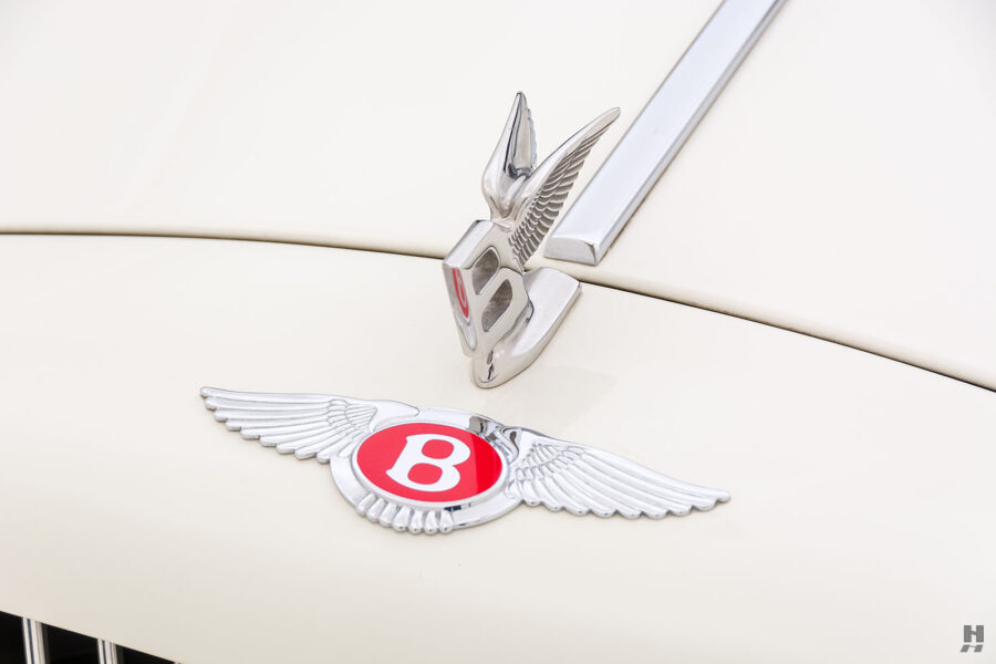 front metal piece on old bentley turbo for sale at hyman classic cars