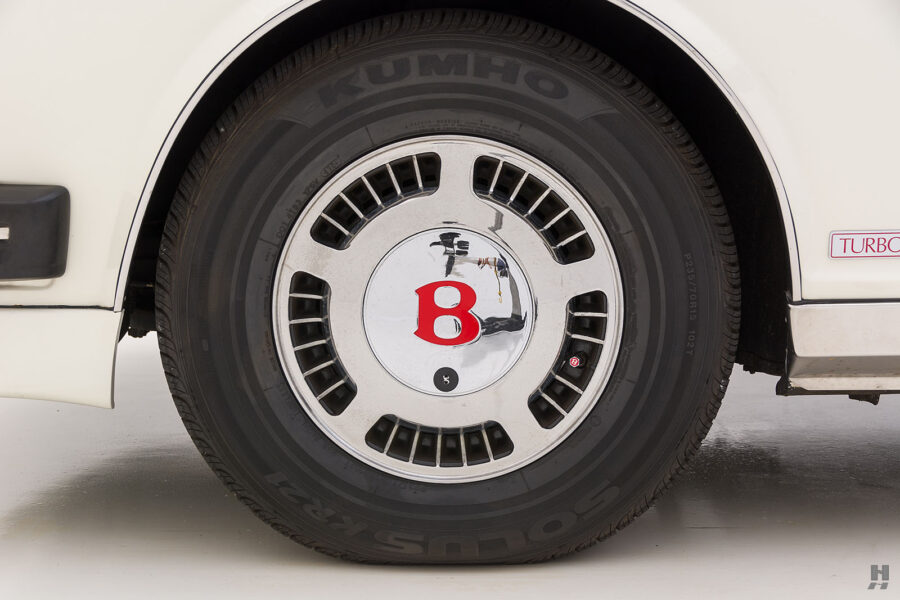back tire on old bentley turbo for sale at hyman classic cars