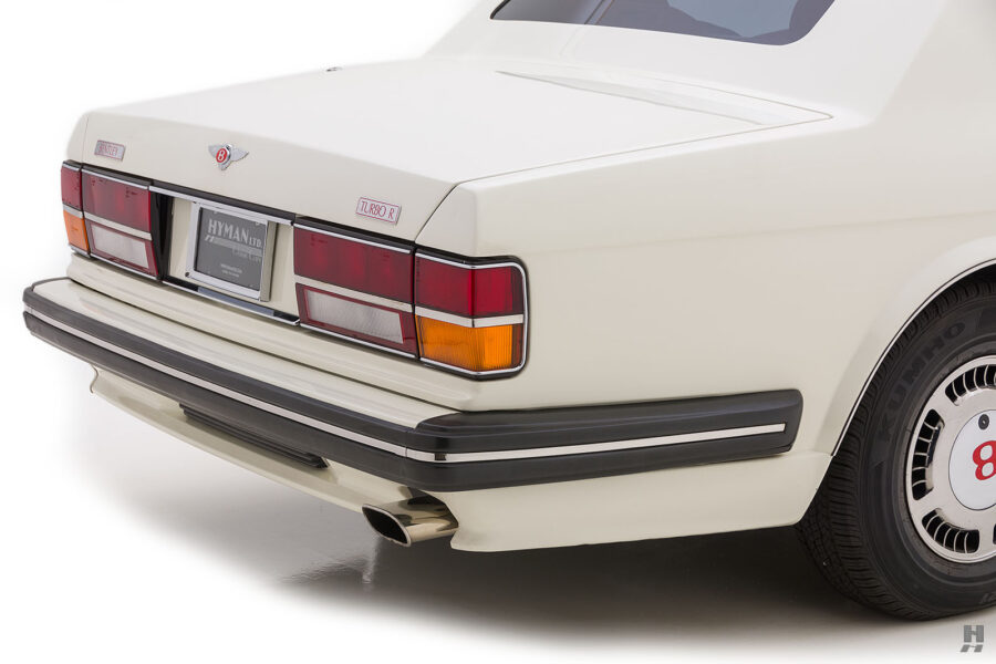 back side of old bentley turbo for sale at hyman classic cars
