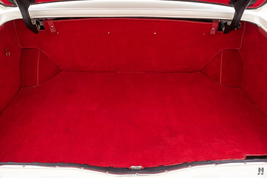 trunk of old bentley turbo for sale at hyman classic cars