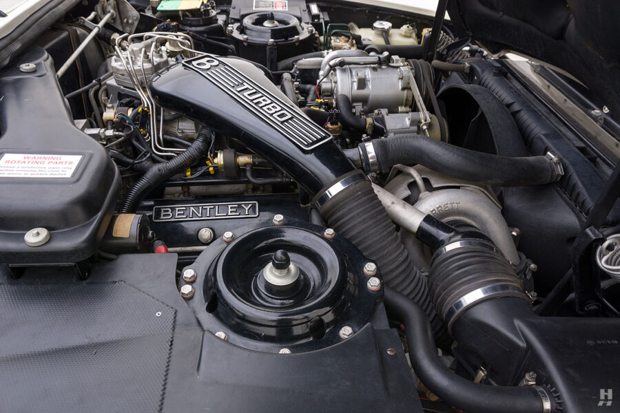 engine of old bentley turbo for sale at hyman classic cars