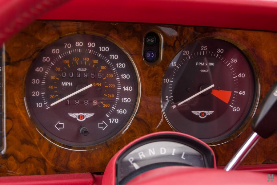 speedometers on old bentley turbo for sale at hyman classic cars