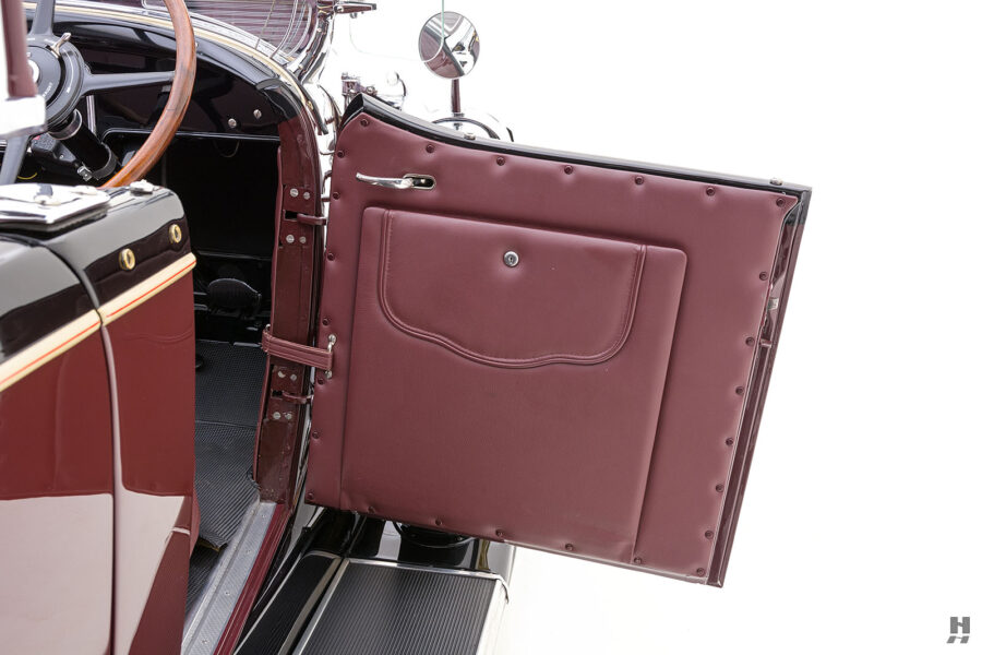 View of Passenger Side Door of Historic 1929 Buick - For Sale at Hyman Car Dealers