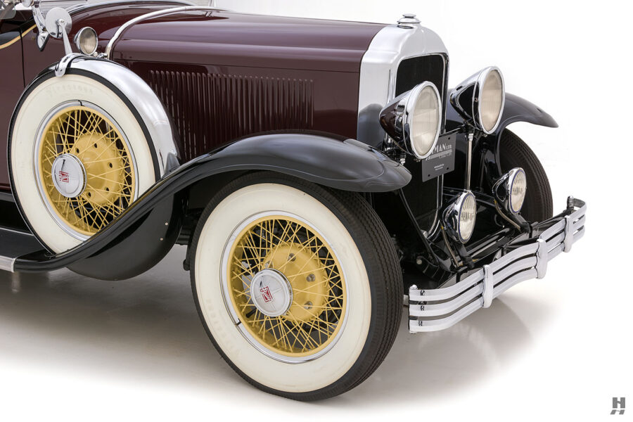 Side View of Front of Classic 1929 Buick For Sale at Hyman Car Dealers
