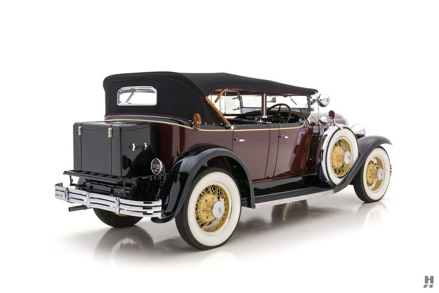Angled Right Side View of Classic 1929 Buick - For Sale at Hyman Consignment Dealers