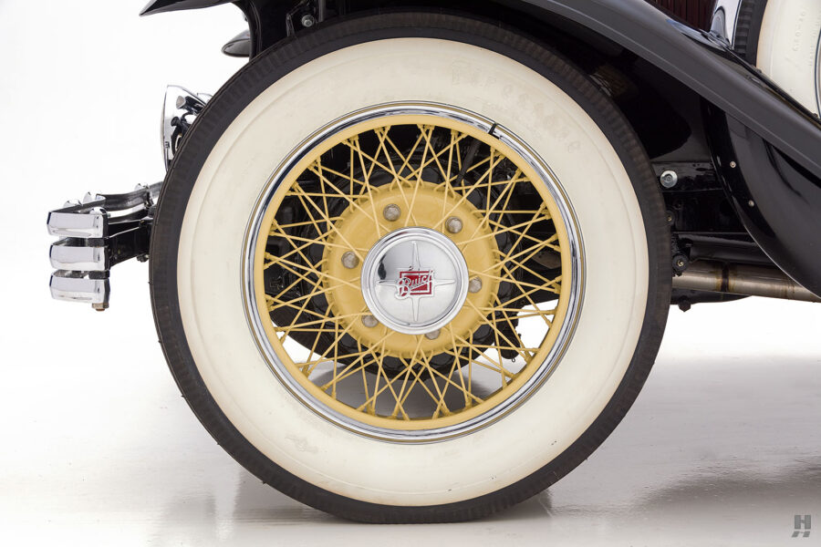 View of Tire on Classic 1929 Buick Car - For Sale at Hyman Auto Dealers in St. Louis