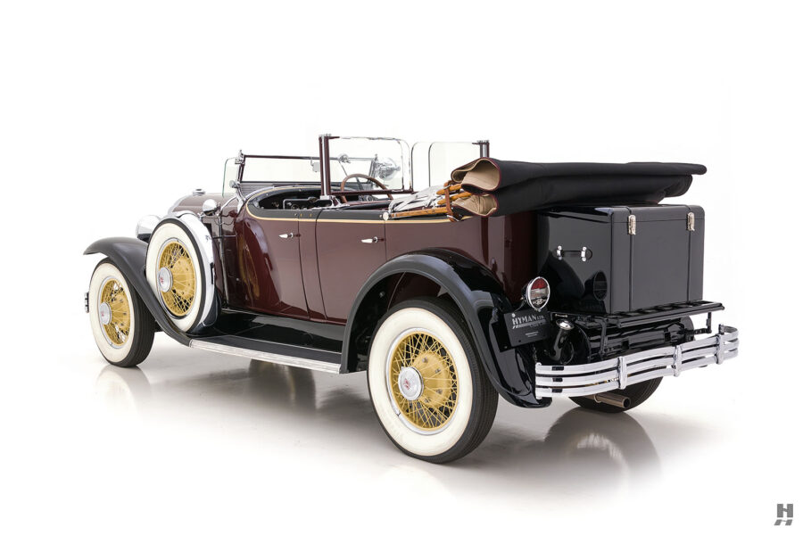 Angled Left Side View of Restored 1929 Buick - Find More Classic Cars For Sale at Hyman