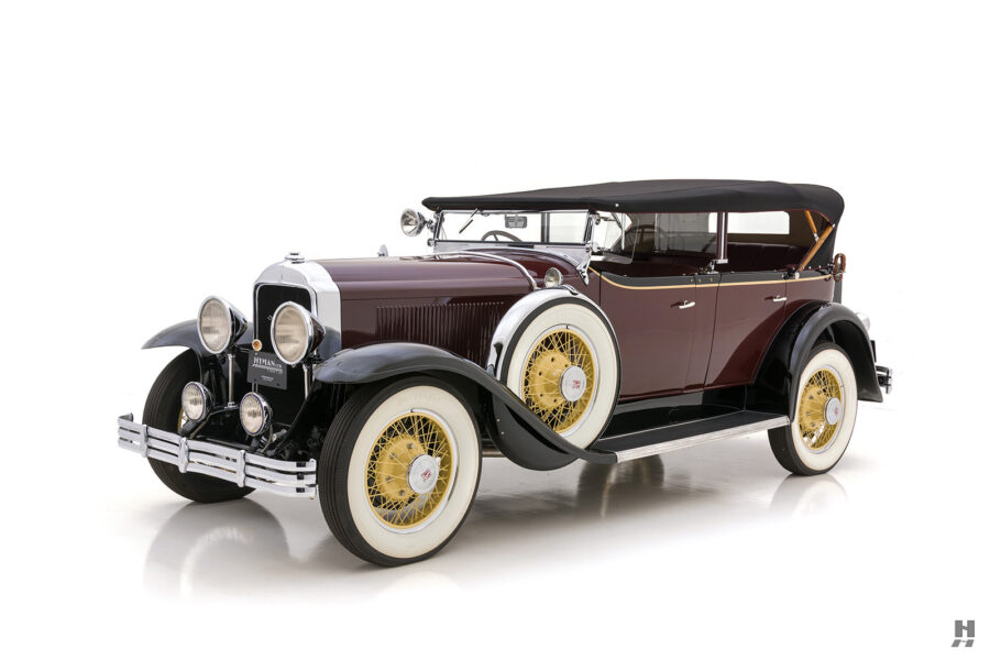 Angled Side View of Old 1929 Classic Buick - For Sale at Hyman Dealers in St. Louis, Missouri