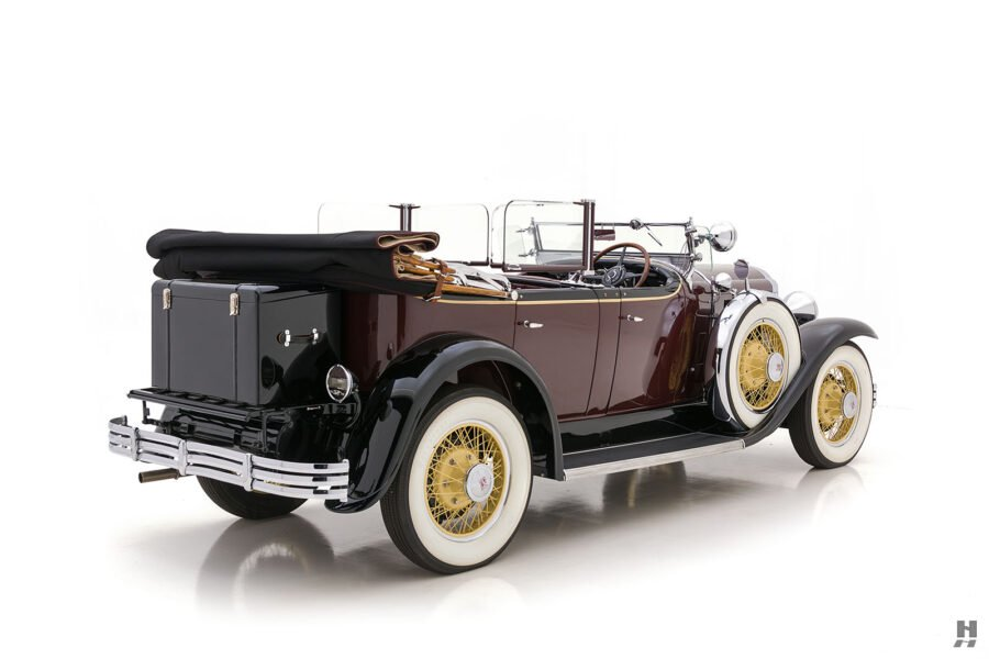 Angled Side View of Rare 1929 Model Buick - For Sale at Hyman Car Dealers in St. Louis