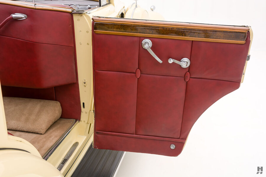 Right side rear door on Packard Convertible car for sale at Hyman