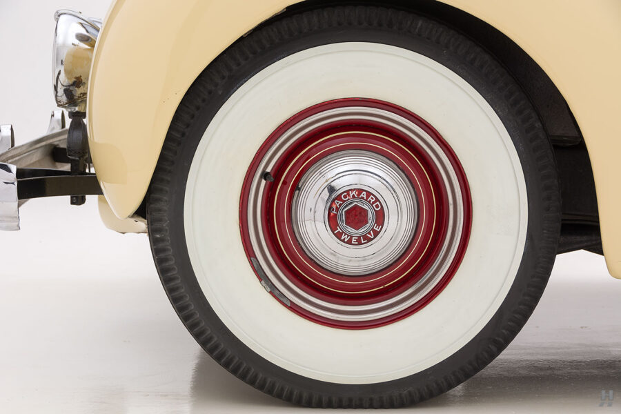 back tire on 1938 packard car for sale at Hyman consignment dealers