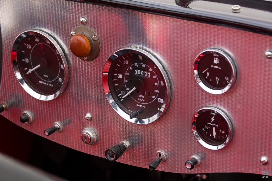 View of Dashboard on Unique 1947 Allard Roadster - Find More Classic Cars at Hyman Dealers in St. Louis